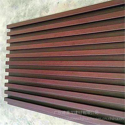 凹凸造型铝板怎么做外墙 酒店门头木纹铝长城板