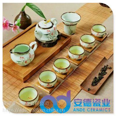 陶瓷茶具价格 青花陶瓷茶具 陶瓷功夫茶具 陶瓷茶具定制