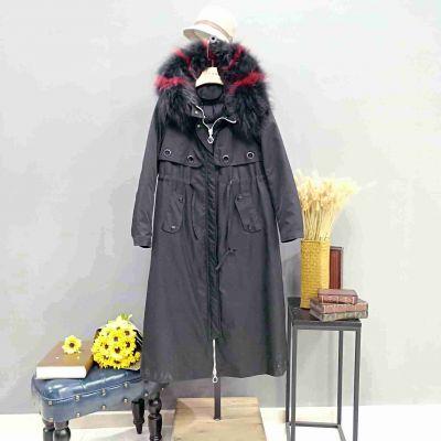 广州一线品牌萨曼斯汀羽绒服女装折扣店货源推荐广州明浩