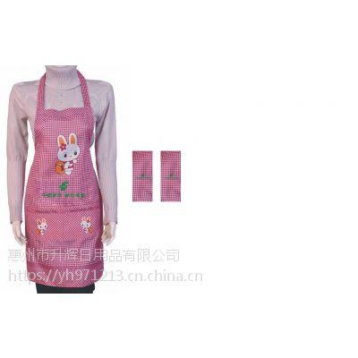 惠州围裙订制 广告围裙私订 多少起订