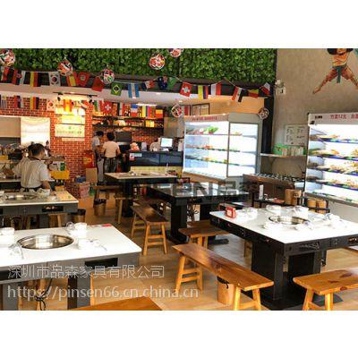 深圳 惠州 哪个商家大量供应火锅店火锅桌子 餐厅专用桌椅 简约现代