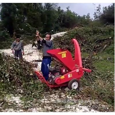 品牌汽油碎枝机 大马力树叶粉碎机 树枝粉碎机厂家