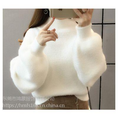 杭州服装批发市场几百万件库存杂款女装羊毛衫批发5元一件一百件起批