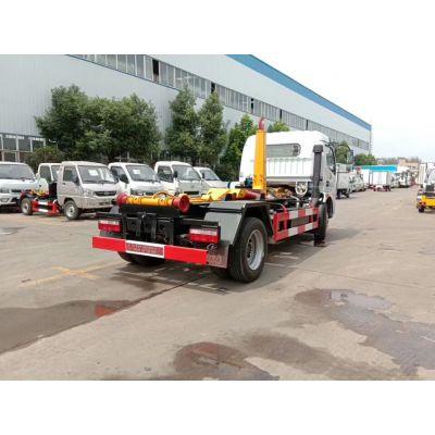 大型钩臂垃圾车、12吨15吨钩臂式垃圾车价格