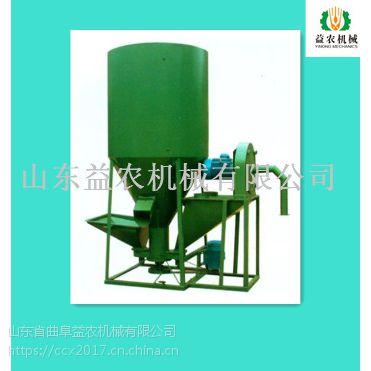 滚动式饲料搅拌机生产过程 小型饲料搅拌机设备