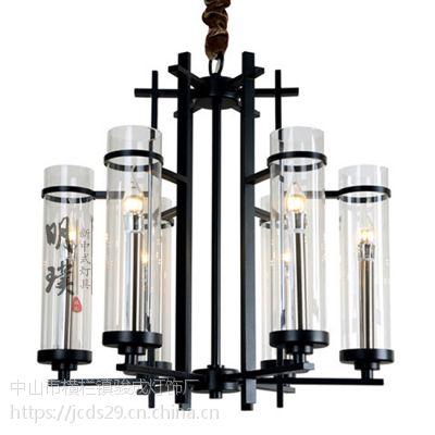 新中式吊灯中国风客厅吊灯别墅大厅灯具