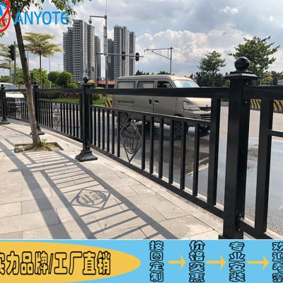 江门新会城市分隔栏 茂名机动车分隔护栏 中山道路白色护栏厂家直批