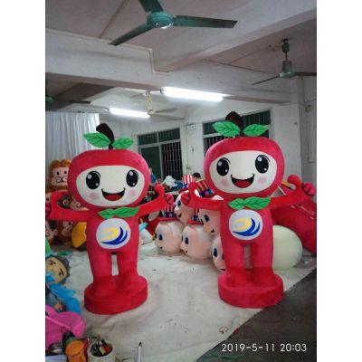 西安公仔 卡通毛绒玩具 吉祥物玩偶 来图定制布艺玩具企业LOGO