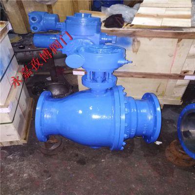 4-20mA控制不锈钢电动球阀 Q941F-64P DN200 高压电动球阀报价