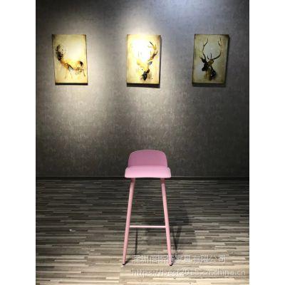 倍斯特简约现代小清新网红款吧椅创意休闲奶茶咖啡厂家定制