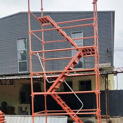 建筑安全爬梯工地施工安全爬梯笼式安全爬梯优质爬梯生产厂家