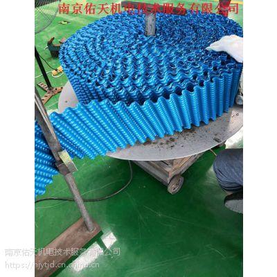 南京冷却塔填料、圆塔填料、PVC填料、聚氯乙烯冷却塔填料
