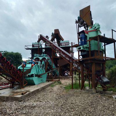 江西萍乡河卵石制砂机 运行成本低 中美沃力机械公司