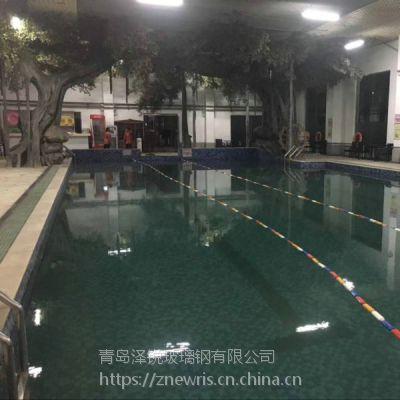 室内水泥仿真大树装饰 游泳馆水泥景观雕塑