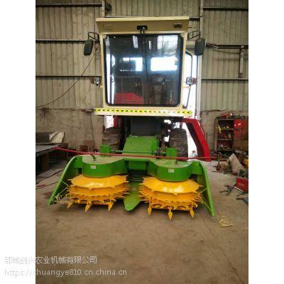 牧草粉碎收割机大型 玉米秸秆青储收割机 皇竹草 青储机