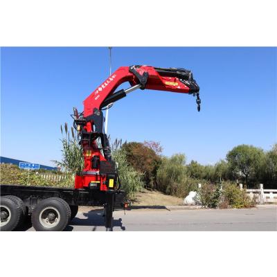 40吨折臂吊机/全新设计40吨折臂吊/选配解放底盘 臂长7节