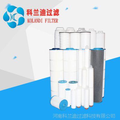 知名生产工业用大通量PP折叠滤芯广东大流量水滤芯生产