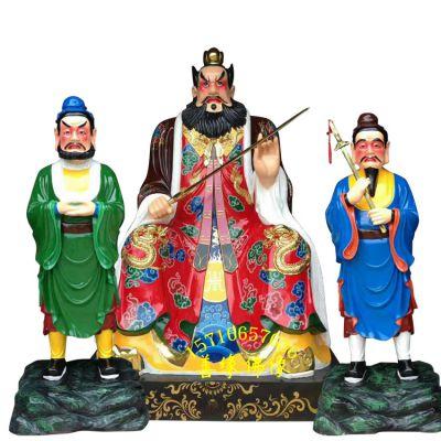 钟馗,张天师神像树脂玻璃钢彩绘贴金河南善缘佛像厂直销
