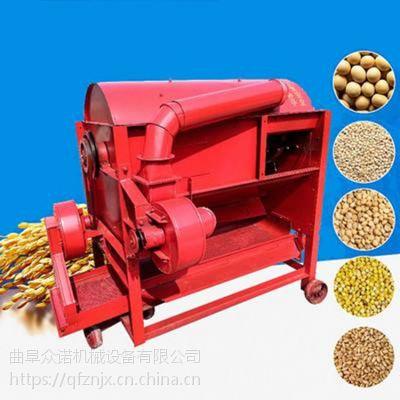 三相电脱粒机 高粱种子脱粒机 众诺机械半自动打谷机
