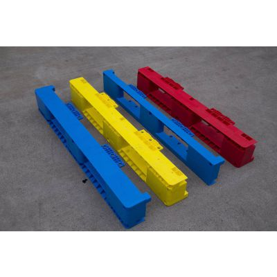 工厂直销可以带钢管的组装塑料托盘