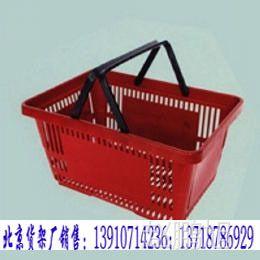 供应塑料手提带轮CC-24型购物篮