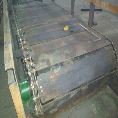 爬坡板链输送机定制 倾斜式链板输送机图片厂家直销