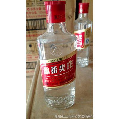 批发白酒 绵柔尖庄 42度125ML  浓香型白酒 24瓶装 红标金标