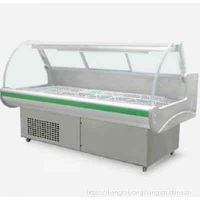 凯雪1.5米熟食展示柜KX-1.5GZT直冷柜鸭脖保鲜展示柜鲜