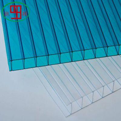 上海厂家供应各种颜色pc中空阳光板 pc阳光板价格