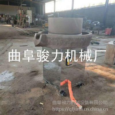 批发电动豆浆石磨机的价格 骏力牌 香油石磨机的图片 价格美丽