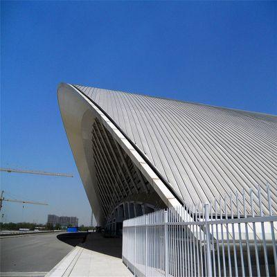 广东 铝镁锰直立锁边金属屋面 65-430 游泳馆屋面