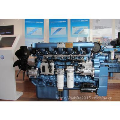潍柴WP12D288E200发电型柴油机 250千瓦柴油发电机组专用动力