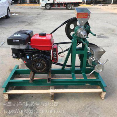 优质食品膨化机 杂粮专用四缸汽油膨化机