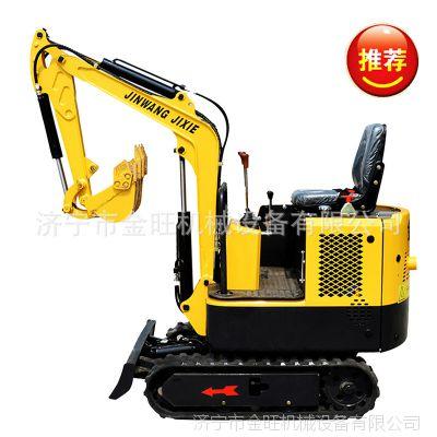 金旺小型挖掘机 全新果园微型挖掘机 迷你液压挖土机价格
