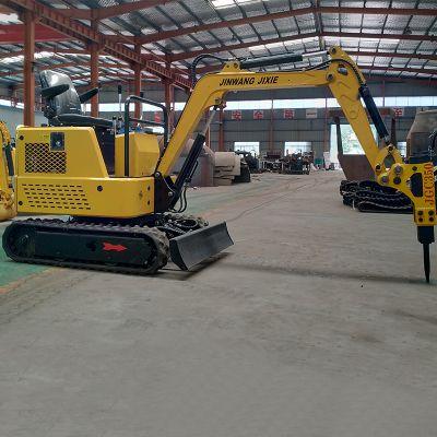 厂家直销农用小型挖掘机 林木栽培多功能小挖机