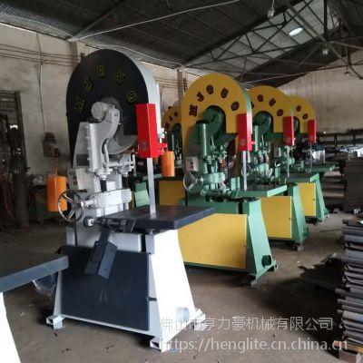 机械厂家供应MJG650台式500mm直径原木实木圆木开料木工高速带锯机