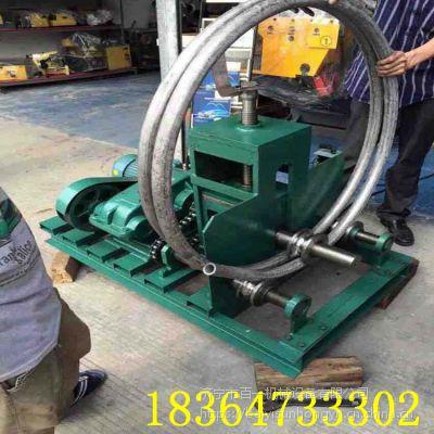 大型卧式弯管机 圆管方管弯弧机百一现货多功能弯管机
