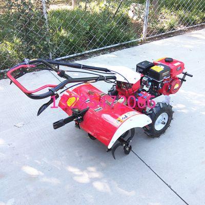 小型多功能四轮旋耕机 便携式山地丘陵种植除草