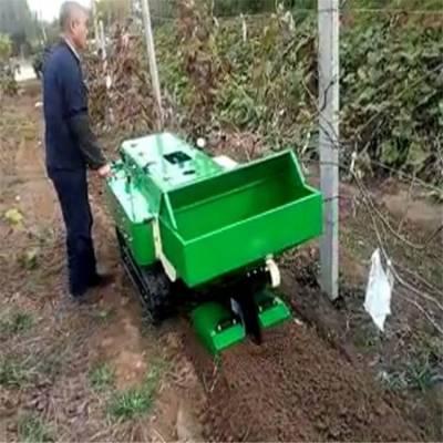 树行之间开沟机 买一送五果园开沟施肥机