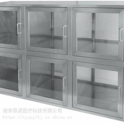 六门互锁双通柜 医院用不锈钢双通柜 紫外线消毒传递柜