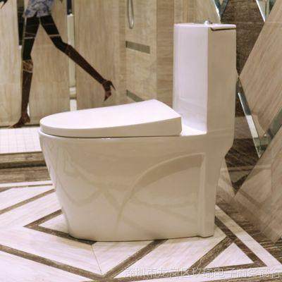 家用坐便器抽水坐厕普通节水座便器卫浴洁具超漩虹吸陶瓷冲水马桶