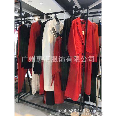 太平鸟女装品牌折扣店加盟店折扣 品牌男女装库存尾货T恤米色毛衣