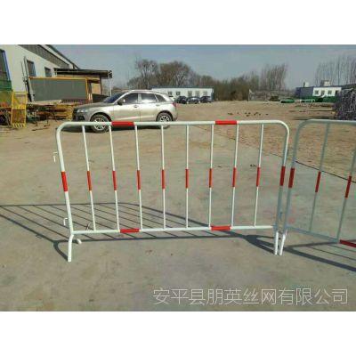 河北厂家供应 铁马临时护栏 浸塑施工安全围栏网