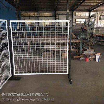 工地警示网栏 围挡护栏工程 工地安全防护栏