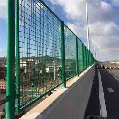 公路框架护栏网 高速公路围栏网 浸塑铁丝网厂家直销