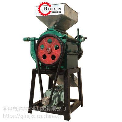 瑞鑫畅销挤扁机 小型粮食加工机械 花生专用破碎机