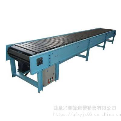 粮食板链输送机多用途 铁件运输链板输送机型号加工厂家