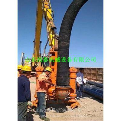 挖掘机液压铰刀清淤泵 液压抽沙泵 批发采购 清淤泵一般要多少钱
