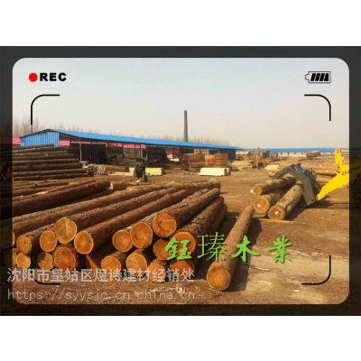 丹东白松木方木板材方木厂家批发价格