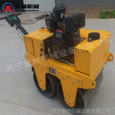 手扶式小型压路机 大单轮静液压压路机 产地货源